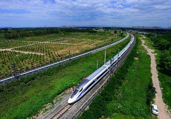 高铁铁路植草护坡工程图片