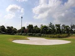 高尔夫球场草坪高清图片